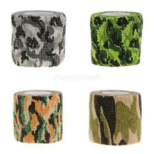 Army Camo Wrap Hunting Camping Hiking Camouflage Stealth Sticky Tape 5cm x 4.5m