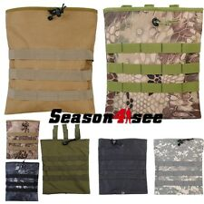 Tactical Military Molle BIG Magazine Dump Drop Pouch Hunting Bag Mag Holder