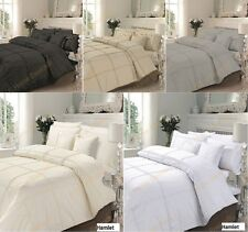 Luxury Duvet Cover With Pillowcases Quilt Cover Bedding Set  HAMLET All Sizes