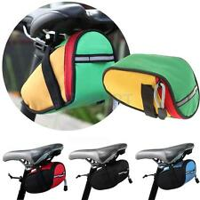 Outdoor Cycling Bike Bicycle Saddle Bag Back Rear Seat Storage Pouch - 4 Colors