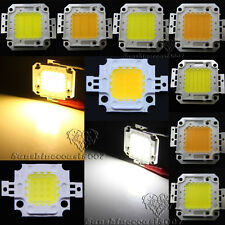 10W 20W 30W 50W 100W High Power LED Chip Cool/Warm White Bulb For Flood Light