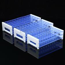 Plastic 3 Layers Lab Test Tube Rack Holder Centrifugal Pipe Stand 40/50 Holes