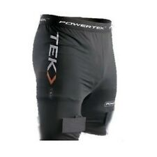 New PowerTek Ladies Compression Fit Ice Hockey Jill Short Pelvic Prot & SockTabs