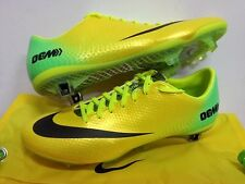NIKE MERCURIAL VAPOR IX FG ACC YELLOW FOOTBALL SOCCER BOOTS CLEATS 703