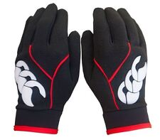 Canterbury 2017 Baselayer Cold Weather Mens Winter Fleece Gloves-PAIR