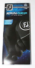 FootJoy Rain-Grip Mens Golf Gloves - Pair - Black - New in Package