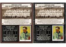 Chicago Cubs 1908 World series Champions Photo Plaque
