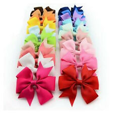 Boutique Grosgrain Hot Ribbon Girls Big 1PC Hairpin Baby Fashion Bow Clips Hair