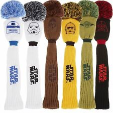 TaylorMade Golf 2017 Star Wars Mens Golf Pom Pom Driver Headcover-All Characters