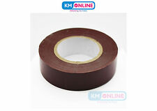 Brown Electrical PVC Insulation Tape 19mm x 20m BS EN 60454 electrical Work