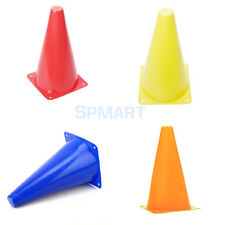 """PVC 9"""" Sports Agility Cones Field Road Soccer Fitness Football Rubgy Training"""
