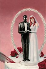 Marvel The Amazing Spider-Man No.639 Cover: Spider-Man and Mary Jane Wat… Poster