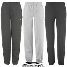 SLAZENGER FLEECE JOGGING BOTTOMS/JOGGERS TRACKSUIT BOTTOMS AGES 7 TO 13 YRS BNWT