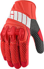 Icon Overlord Mesh Gloves Red
