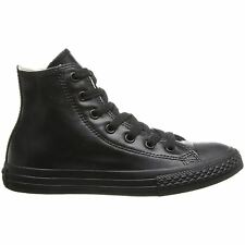 Converse Chuck Taylor All Star Hi-top Black Womens Trainers Sneakers