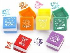 Teachers Classroom Stamper Self Inking Motivation Praise Reward Stamps Sticker
