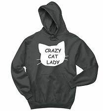 Crazy Cat Lady Funny Sweatshirt Cat Lover Kitten Holiday Gift Hoodie