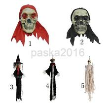 Scary Hanging Witch/Wizard/Pharaoh/Glowing Skull for Halloween/Ghost Party Prop