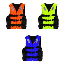 Kids Adult Life Jacket Vest Survival Suit for Swimming Boating Fishing M XL XXL
