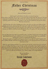 NEW Personalised Letter to LAPLAND from Santa Claus Father Christmas Invitation