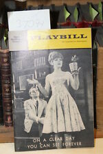 Playbill Mark Hellinger Th... On a Clear Day You Can...