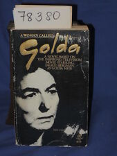 Avallone, Michael signed by a... A WOMAN CALLED: GOLDA