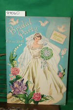 Whitman Publishing Co Briday Party Cut Out Dolls pap...