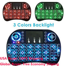 Mini 2.4G Backlit Wireless Touchpad Keyboard Air Mouse For Pad PC Android TV Box
