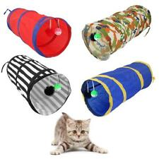 Pet Living Pop Up Cat Kitten Play Tunnel Fun & Strong Tube Toy For Rabbit Puppy