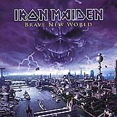Iron Maiden - Brave New World CD  2000 PORTRAIT / COLUMBIA CK 62208