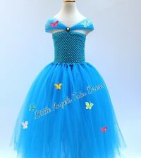 New Cinderella Dress, Cinderella Tulle Tutu Dress, Fancy Dress Costume, Birthday