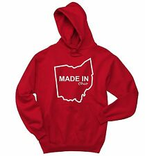 Made In Maine Funny Sweatshirt Home State Pride Holiday Gift Hoodie