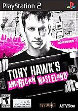 Tony Hawk's American Wasteland Playstation 2 Disc Only No Case No Manual SALE