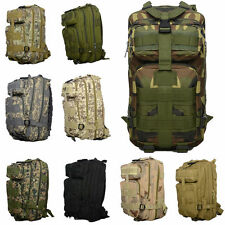 30L Army Military Tactical Trekking Rucksack Backpack Camping Hiking Bag Camo