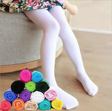 1Pcs Hosiery Dance Stockings Girls Kids Candy Tights Pantyhose Opaque Ballet