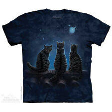 The Mountain Wish Upon a Star Cats Animal Pets Kitten Adult T Tee Shirt 104856