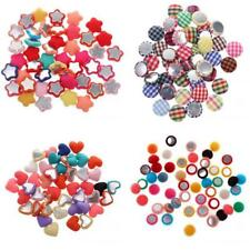 Pack of 50 Multi-Purpose Scrapbooking Chic Flatback Appliques Buttons DIY Crafts