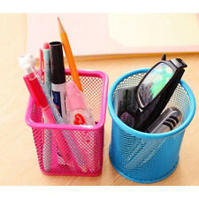 Holder DK Cosmetic Metal Organizer Pencil Pen UG Container Stationery Pot Hollow