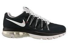 New Nike Men Air Max Excellerate 5 Running Shoes Black/Metallic Silver All Sizes