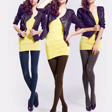 NEW Sexy Opaque Footed Tights Sexy Women's Pantyhose Stockings Socks 14 Colours