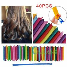18/24/40pcs DIY Long Hair Roller Curlers Magic Circle Twist Spiral Styling Tools