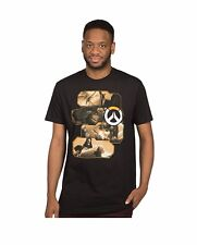 Overwatch Heroes and Assassins Officially Licensed Adult Graphic T Shirt