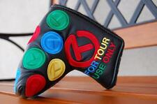 NEW BLACK RAINBOW DANCING CIRCLE T SCOTTY CAMERON HEADCOVER COVER MID MALLET