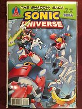 SONIC UNIVERSE Comic Book #3 June 2009 THE SHADOW SAGA 3 of 4 First Edition MINT
