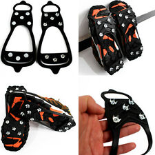 8 Teeth Ice Snow Shoes Spikes Claws Boots Chain Crampon Anti-slip Climbing Shoe