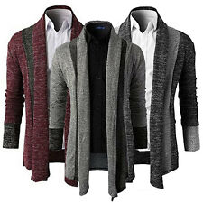 2016 Men's Fashion Casual Slim Fit Knitted Cardigan Pullover Jumper Sweater Tops