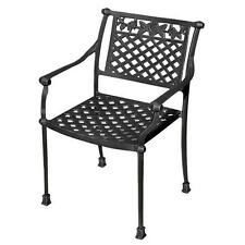 Signature Hardware Princeton Cast Aluminum Arm Chair