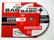 T-Tapp BASIC+ WORKOUT Plus to Tempo Series Fitness DVD Full Body Exercise
