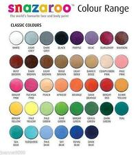 Professional SNAZAROO Face Paint Stage Make Up Classic Colours Paints Painting