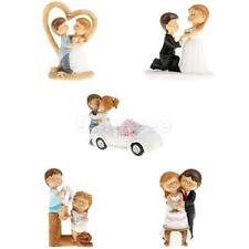 Love Couple Romantic Bride and Groom Cartoon Cake Topper Wedding Birthday Decor